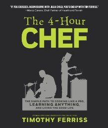The 4-Hour Chef: The Simple Path to Cooking Like a Pro, Learning Anything, and Living the Good Life by Timothy Ferriss.  Watch the book review here -> http://latestkindlebookstore.com/4-hours-chef