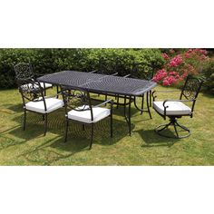Royal Craft Versailles  Seater Dining Set With Cushions