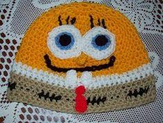 sponge bob round hat