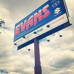 Evans Toyota advertisement #Toyota #EvansToyota