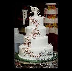 Package 34 - Wedding Wonderland Cakes in St. Louis, Missouri - Wedding Cakes, Specialty Cakes for all occasions