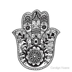 The Hamsa Hand- kind of a cool tattoo idea
