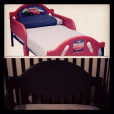 """Toddler bed Plastic to """"modern"""""""
