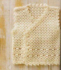 Chaleco para Bebé en Crochet - Bonito y fácil ⋆ Manualidades Y DIYManualidades Y DIY