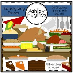 $ Thanksgiving Dinner: Graphics for Commercial Use