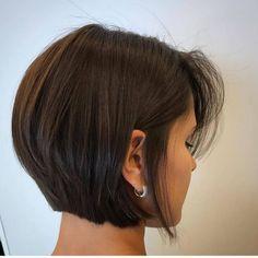 Bob Haircuts For Women, Short Bob Haircuts, Short Hair Cuts For Women Bob, Bob Hairstyles For Fine Hair, Undercut Hairstyles, Easy Hairstyles, Medium Hair Styles, Short Hair Styles, Asymmetrical Bob Haircuts