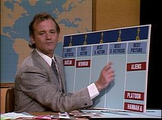 Saturday Night Live: Bill Murray in Weekend Update #SNL