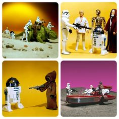 Star Wars action figures  May the Fourth be with you!