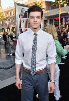Cameron Monaghan Photos - Actor Cameron Monaghan attends the premiere of New Line Cinema's and Metro-Goldwyn-Mayer Pictures' 'If I Stay' at TCL Chinese Theatre on August 2014 in Hollywood, California. - 'If I Stay' Premieres in Hollywood — Part 4 Most Beautiful Man, Beautiful People, Cameron Jerome, Jerome Gotham, Ian And Mickey, Bae, Jerome Valeska, Cameron Monaghan, Mens Attire