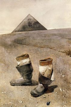 Sea Boots (1976) Andrew Wyeth more works by this artist