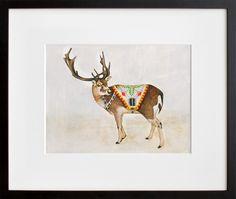 Reindeer, by Lisa Congdon   20x200