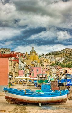 Procida, Napoli, Italy. One of my former professors visits her parents here every May.