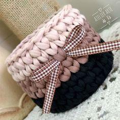 Cachep de fio de malha Crochet Mandala Pattern, Crochet Basket Pattern, Crochet Patterns, Crochet Bowl, Crochet Baby Hats, Knit Crochet, Crochet Storage, Crochet Hooks, Fabric Yarn