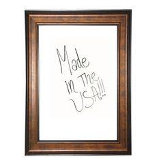 """Rayne Mirrors Wall Mounted Whiteboard Size: 56.75"""" x 92.75"""""""