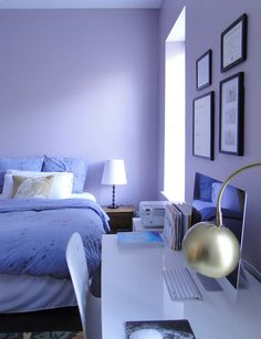Paint Colors That Match This Apartment Therapy Photo Sw 6545 Majestic Purple 6963 Shire 6968 Hyacinth Tint 7133 Faraway Blue 6816 Dahlia
