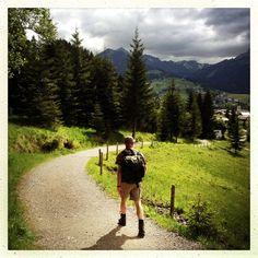 Path to Riezlern (Austria)