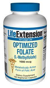 (Optimized) Folate (L-Methylfolate) 100 Veg Caps . $19.60