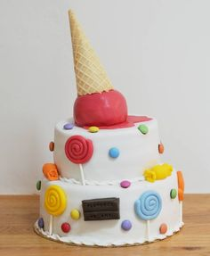 Gâteau Candy Land ic