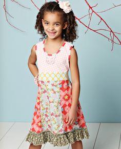 Sundae Pie Tank dress.    Matilda Jane Clothing