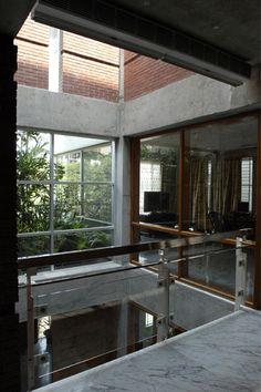 glass railing - promotes light