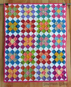 Granny Square Quilt | Sew Fresh Quilts