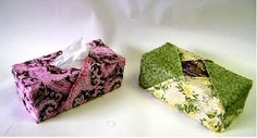 Tissue Box Cozy Free Tutorial and many more projects: http://content.janome.com/index.cfm/ProjectCenter/Project_Detail/Tissue_Box_Cozy