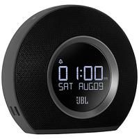 JBL-ELECTRONICS - AUDIO EQUIPMENT-Portable Radios-JBL Horizon Clock Radio with Bluetooth and USB Charging-£79.95-The JBL Horizon Clock Radio will have you waking up to eye-opening sound. Boasting two alarms, you and your partner can chose to wake up with FM Radio, original digital alarm tones or music streamed from a Bluetooth device. Alarm clock with LED backing light The dual independent alarms are supported by LED ambient lights which will help you to wake up gently.