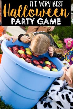 The best ever Halloween party game and tons of other Halloween party games!