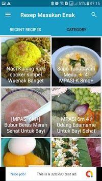 Resep Masakan Enak Dan Lezat Aplikasi Android Resep Masakan Resep Masakan Arab Resep