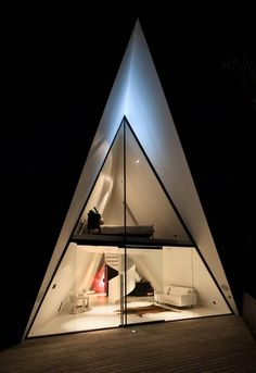 tent house / chris tate architecture | architecture | pinterest, Hause ideen