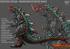 NAGORAIAR's design by GARAYANN on DeviantArt
