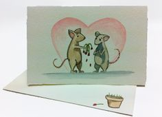 Hearts, Sweeties, Valentines... by Michelle Kogan on Etsy