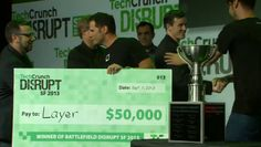 Layer wins the startup battlefield at Disrupt Silicon Valley Startups, Sept 1, Layers, Messages, Layering, Text Posts, Text Conversations