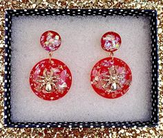 Sassy Miss Spider Earrings Red Spooky Halloween | Etsy Spider Earrings, Drop Earrings, Vintage Love, Retro Vintage, Spooky Halloween, Flowers In Hair, Love Heart, Rockabilly, Sassy