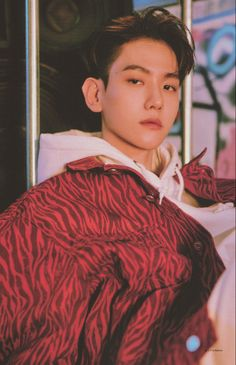 Chanbaek, Saranghae, Baekhyun, Exo Anime, Kim Jong Dae, Exo Album, Kpop Guys, Kpop Aesthetic, Most Beautiful Man