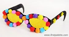 Silly Paper Eyeglasses