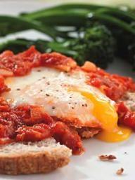 Hilary's Heavenly Eggs    KitchenDaily.com