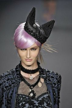 Anna Sui Cat Ears hat