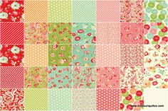 @Jeanine Adkison This is for if Baby's a Girl -  Scrumptious Fat Quarter Bundle - Bonnie & Camille - Moda Fabrics