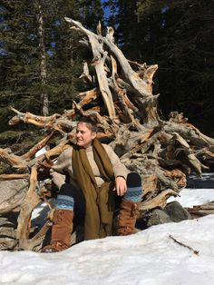 Kelsey Bour-Schilla - An enchanted rest stop along Nymph Lake.- Nymph Lake, Rocky Mountain National Park, CO #mukluk #stegermukluks