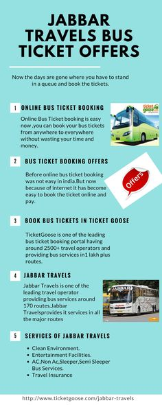 Jabbar Travels provides  online bus booking in a very easy way. Select the route of travel, select the seat and pay online at ticket goose with no booking charges  http://www.ticketgoose.com/jabbar-travels
