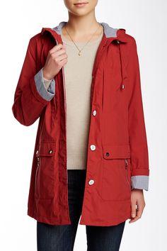 Nylon Contrast Jacket by Tommy Hilfiger on @HauteLook