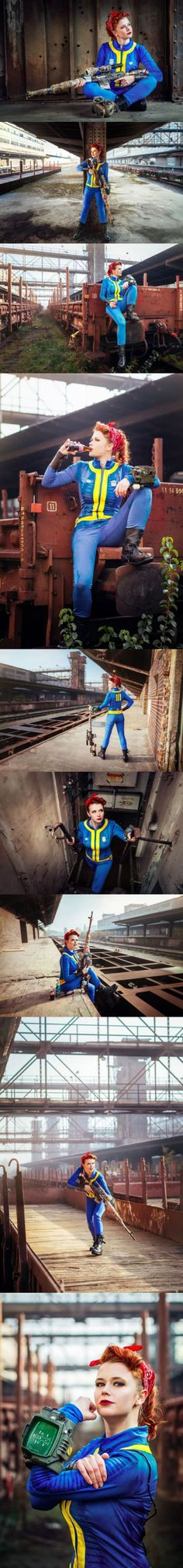 Someone is already doing Fallout 4 cosplay. (Cosplayer: Baty Alquawen)