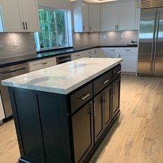 Custom Kitchen Island with Seating Item 155 Kitchen Island Table, Kitchen Island With Seating, Kitchen Remodel Cost, Kitchen Remodeling, Cabinet Dimensions, Modern Kitchen Cabinets, Granite Kitchen, Custom Kitchens, Farmhouse Style Kitchen