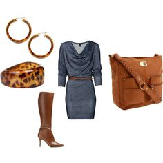 Autumn Morning, created by melanie-blignaut on Polyvore