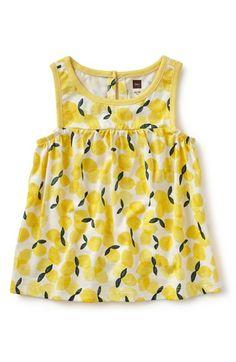 Tea Collection 'Piccoli Limoni' Sleeveless Top (Toddler Girls, Little Girls & Big Girls)