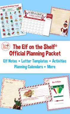 The Elf on the Shelf Planning Calendars   The Elf on the Shelf Ideas Checklist   The Elf on the Shelf Planners The Elf, Elf On The Shelf, Calendar Notes, Planning Calendar, Hiding Spots, School Parties, Letter Templates, Shelf Ideas, Low Key