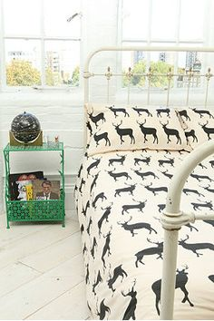Anorak Stag Double Duvet Cover Set
