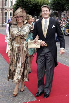 Princess Laurentien, August 25, 2005 in Marianne Jongkind | Royal Hats