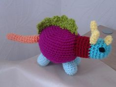 dino - crochet